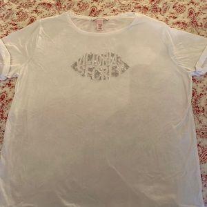 Victoria's Secret Lip Logo Tee Shirt